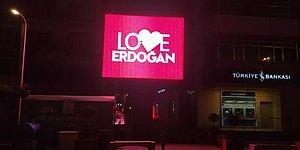 'Stop Erdoğan'a Tepki: Ordu'da Reklam Panolarında 'Love Erdoğan' Görseli Yer Aldı