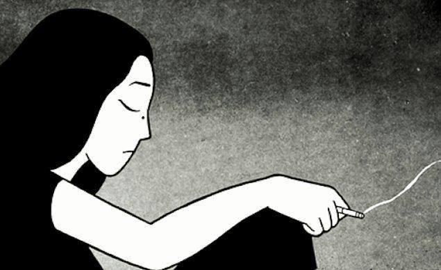 """4. """"Ağlıyorsun çünkü yanıldığını düşünüyorsun. Yanlışlarını kabul etmek hiç kolay değil, öyle değil mi?"""""""