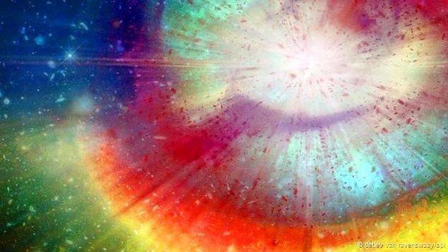 Evren'imizin geçmişini biliyoruz. Big Bang Teorisi bütün zaman ve mekanın yaklaşık 14 milyar yıl önce son derece küçük ve sıkışmış bir halden başladığını açıklıyor.