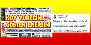 Tarafsız Olması Beklenen Yılların Spor Gazetesi Fotomaç'ın Galatasaray Fanatikliği Tepkilerin Odağında