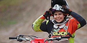 Genç Motokrosçu Irmak Yıldırım, Dünya Şampiyonasında Türkiye'yi Temsil Eden İlk Kadın Olacak