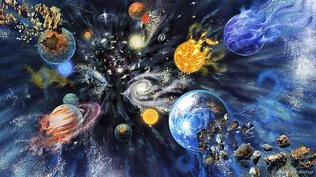 Atomları ve çekirdeği bir arada tutan elektromanyetik, zayıf ve güçlü nükleer kuvvetlerin de gücünü aşar.