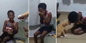 Ailesi Köpek Sahiplenince Mutluluktan Gözyaşlarına Boğulan Çocuk