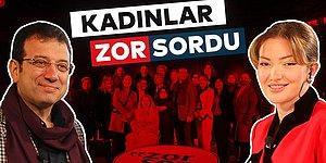 Ekrem İmamoğlu 8 Mart'a Özel, Danla Bilic Moderatörlüğünde Kadınlardan Gelen 'Zor Sor'uları Cevapladı