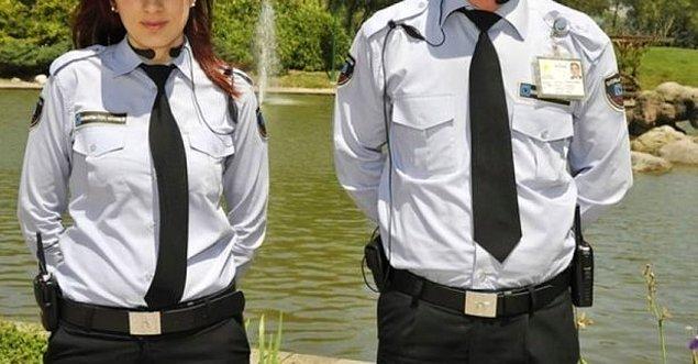 Güvenlik görevlisi