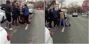 Senaryo Aynı, Kişiler Farklı... Sokak Ortasında Kadına Şiddet Kamerada