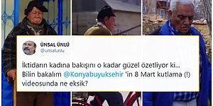 Konya Büyükşehir Belediyesi'nin 'Kadınsız' 8 Mart Videosu Tartışma Yarattı!