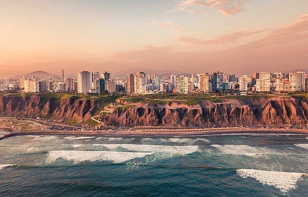 1. Peru'nun başkenti Lima'dır.