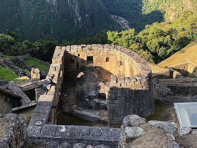 4. Machu Picchu astronomik bir gözlemevidir.