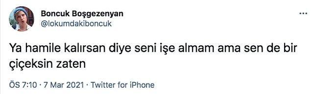 Twitter'da bulunan Boncuk Boşgezenyan isimli kullanıcı, tam da bu konuyla ilgili bir paylaşım yaptı. Tweet o kadar çok etkileşim aldı ki, kısa sürede kullanıcıya destek veren birçok kişi yorum yaptı.