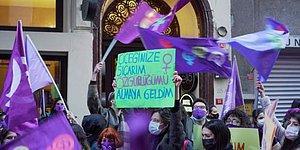 Polis Yürüyüşe İzin Vermedi: Kadınlar Feminist Gece Yürüyüşü İçin Taksim'de Bir Araya Geldi