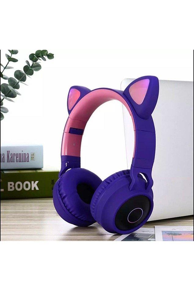 6. Rengarenk kulaklıklar