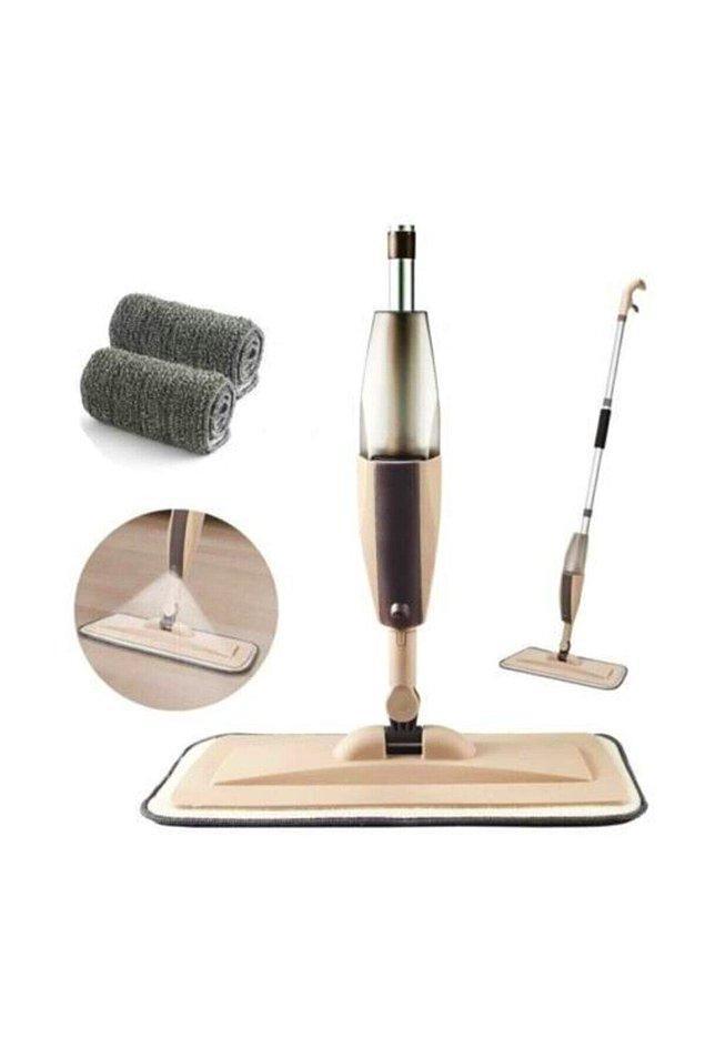 11. Geleneksel yöntemlerle ev temizlemekten yorulanlara özel mop.