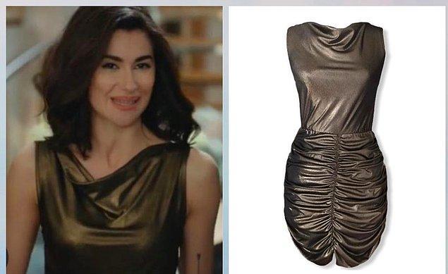 6. Yine sanki sırf Şahika için üretilmiş bir elbise...