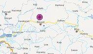 Bingöl'de 4,0 Büyüklüğünde Deprem