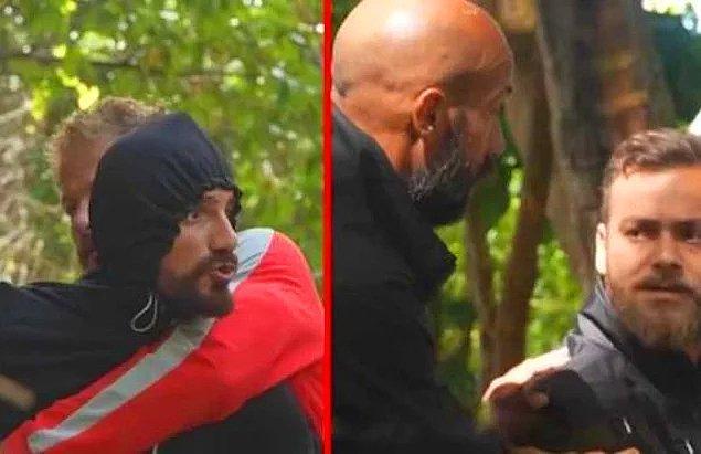 2. Survivor programında çıkan kavga izleyenleri resmen neye uğradığına şaşırttı!
