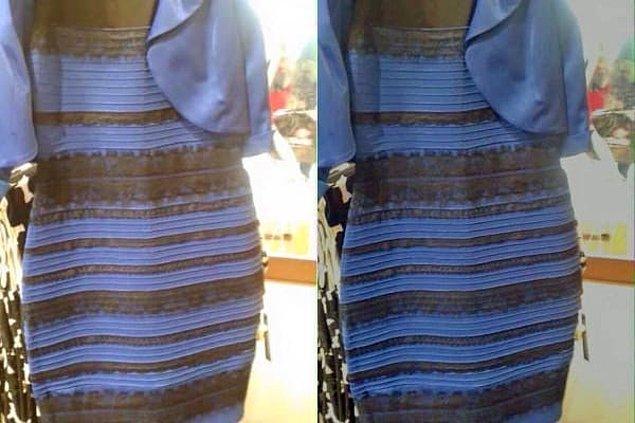 7. Elbise ne renk?