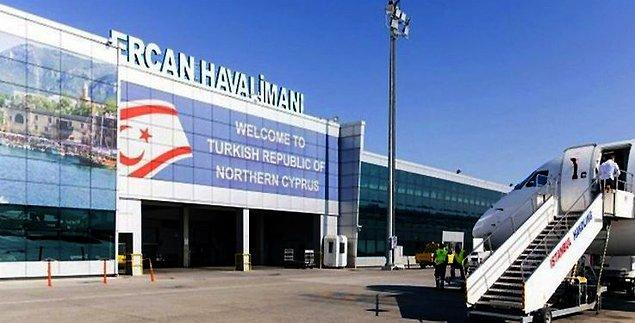 2. Havaalanı da sadece Türkiye tarafından tanındığı için yalnızca Türkiye'den kalkan uçaklar iniş yapıyor.