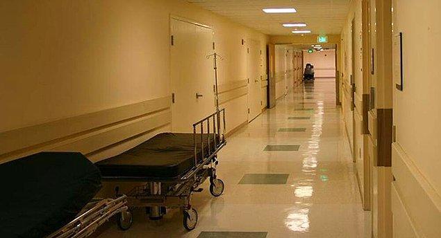 Hastanelere girdi