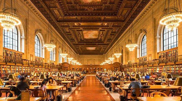 4. New York Halk Kütüphanesi-Manhattan