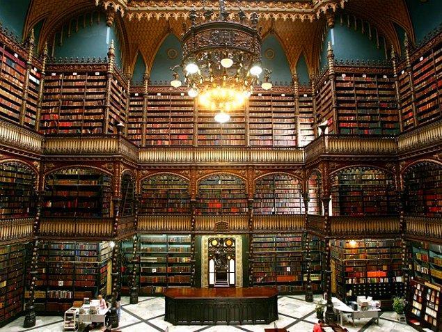 7. Real Gabinete Português de Leitura-Brezilya