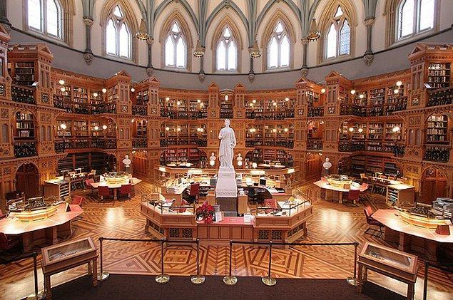 12. Parlamento Kütüphanesi-Kanada