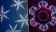 18 Ay Uğraştılar, Kar Tanesinin En Yüksek Çözünürlüklü Fotoğraflarını Çektiler