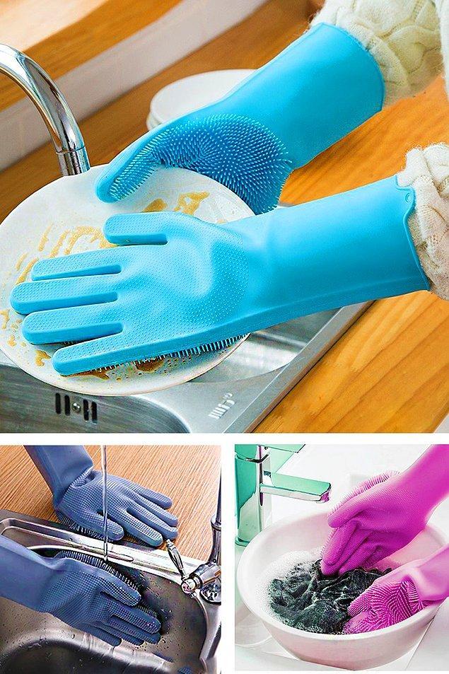 4. Isıya dayanıklı çok amaçlı temizlik eldiveni