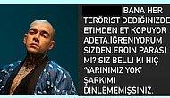 Ünlü Rapçi Ezhel'den Kendisine Terörist Diyenlere Sert Yanıtlar Geldi