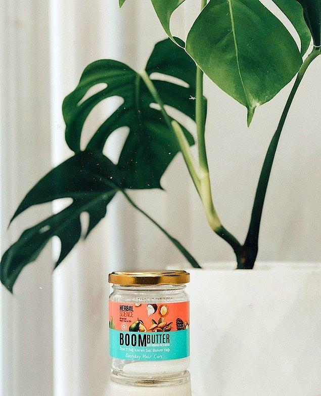 1. Herbal Science Boom Butter Saç Bakım Yağı