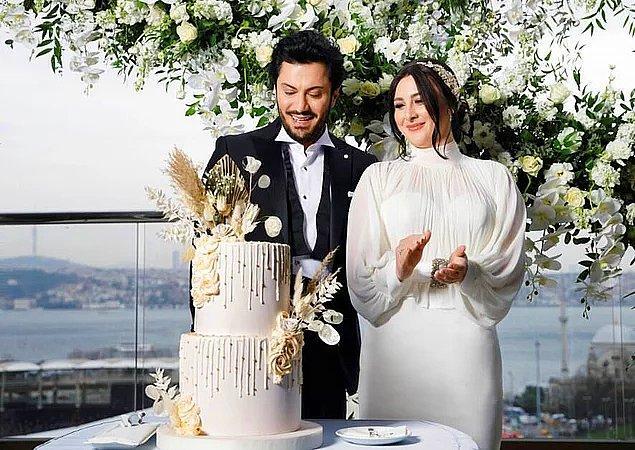 10. Bir diğer evlilik haberi de Yasemin Sakallıoğlu'ndan geldi!