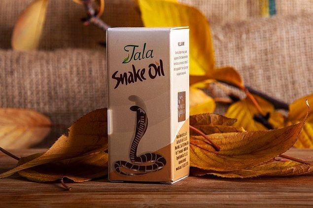 5. Tala yılan yağı