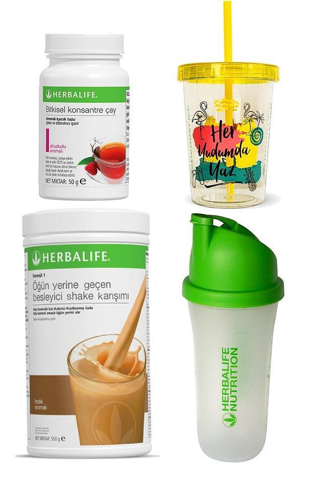 7. Herbalife yağ yakıcı çayını kullanan biri olarak bayıldığımı söylemeliyim. Shakelerinin de çok besleyici bir içeriğe sahip olduğu söyleniyor.