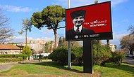 'Love Erdoğan' Pankartlarını Kaldıran Selçuk Belediyesi, İlçeyi 'Tek Sevdamız Atatürk' Afişleriyle Donattı