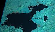 Van'daki Kuraklık Tehlikesi Uydudan Görüntülendi: İnci Kefalleri de Etkilenecek
