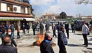 Konya'da Esnaf Masa ve Sandalyeleri Yaktı: 'Kongreler Lebalep Dolu, Virüs Sadece Bize mi Var?