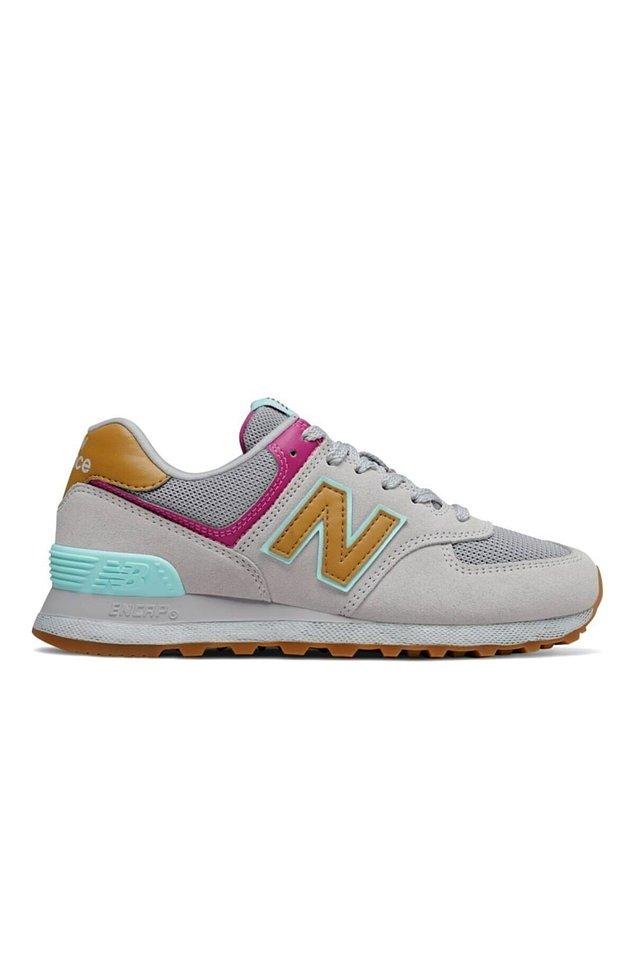 7. New Balance'ın bu modeli çok tatlı, renkleri şahane...