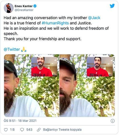 Gülen'in 'Manevi Oğlu' Enes Kanter ile Twitter CEO'su Jack Dorsey Bir Arada... - onedio.com