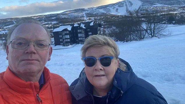 Norveç halkından özür dileyen Solberg'e sosyal medyadan tepki yağdı