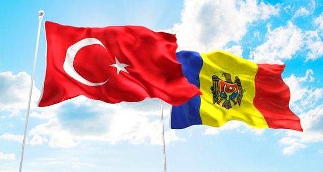 2. Türkiye'de de 50 bine yakın Moldovalı var.
