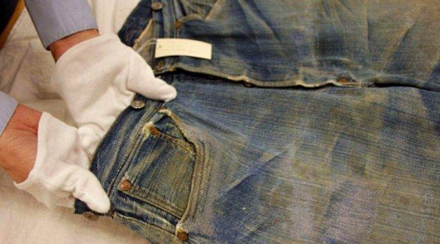 10. Var olduğu bilinen en eski Levis kot pantolonu yaklaşık 142 yaşındadır.