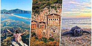 Caretta Caretta'ların Çıkış Noktası Olmasının Yanı Sıra Birçok Güzelliğe de Ev Sahipliği Yapan Belde: Dalyan