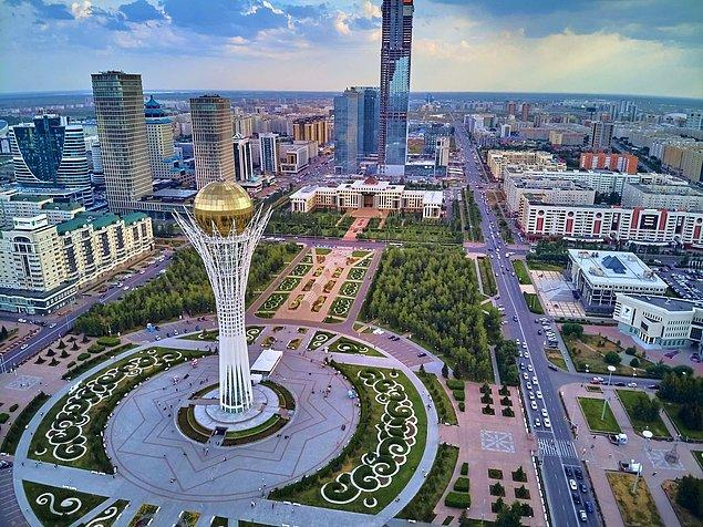 3. Rusya, Çin, Kırgızistan, Özbekistan ve Türkmenistan olmak üzere beş ülke ile sınır komşusudur.