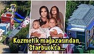 Yine Yangınlar Yine Biz! Kim Kardashian'ın Çocukları İçin Yaptırdığı Mini Mahalleyi Görünce Canınız Sıkılacak