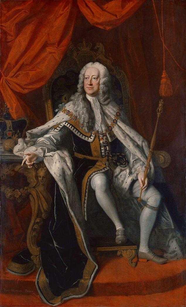 10. Kral II. George tuvaletini yaptığı sırada için o kadar çok ıkındı ki kalbi patladı.