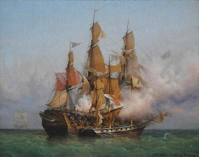 11. Benjamin Hornigold, 1600'lerin sonlarında ve 1700'lerin başlarında yaşamış bir korsandı ve bir keresinde bir tüccar gemisini sadece mürettebatın şapkalarını almak için soymuştu.