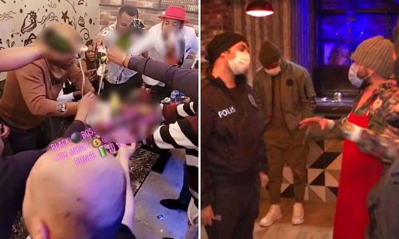 Esenyurt'ta Afrikalıların Korona Partisine Polis Baskını! - onedio.com