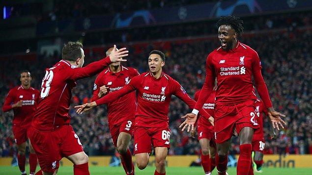 7 Mayıs 2019 / Liverpool - Barcelona: 4-0