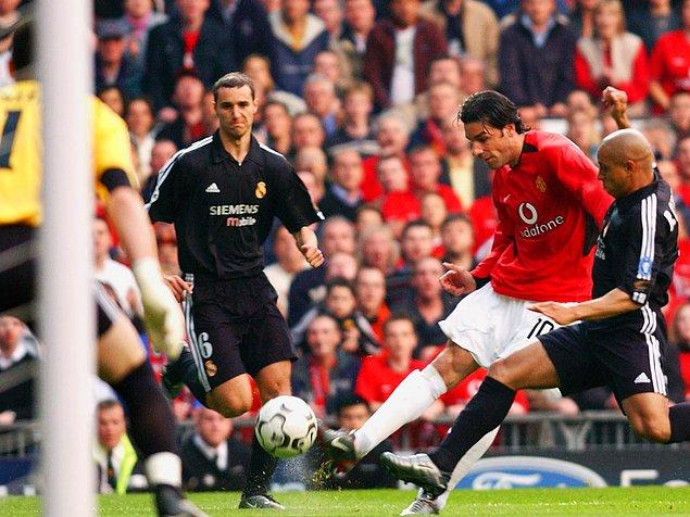 23 Nisan 2003 / Manchester United - Real Madrid: 4-3