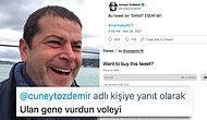 """Cüneyt Özdemir, """"Bu Tweet Bir 'Sanat Eseri'dir"""" Tweetini 10.000 Dolara Sattı! Tepkiler Gecikmedi"""